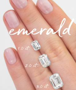 Loose Emerald Cut Moissanite South Africa