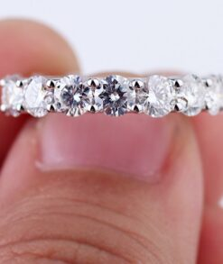 7x4mm Moissanite Eternity Band South Africa