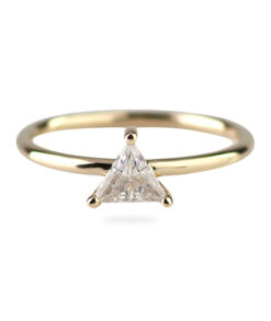 Triangle Cut Moissanite Engagement Ring South Africa