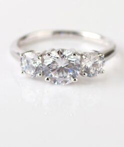 Trilogy Moissanite Engagement Ring South Africa