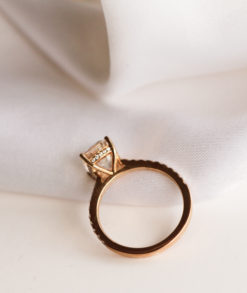 7x9mm Elongated Cushion Cut Moissanite Engagement Ring South Africa