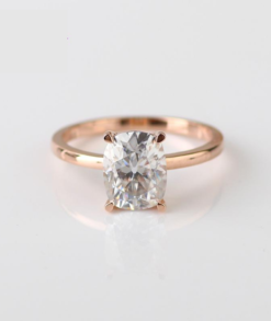 Elongated Cushion Moissanite Ring South Africa