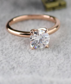 1ct Round Moissanite Solitaire Engagement Ring South Africa