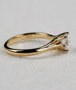 Moissanite Four Prong Cathedral 3ct Solitaire Engagement Ring South Africa