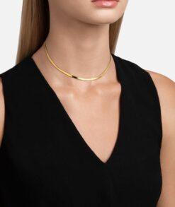 Gold Snake Chain Herringbone chain