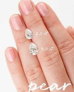 loose pear moissanite south africa