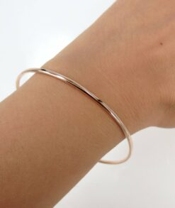 9ct Rose Gold Bangle South Africa
