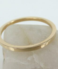 Yellow Gold Wedding Band 1.3mm South Africa