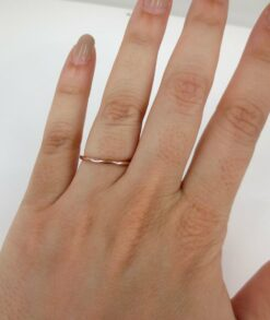 9ct rose gold wedding band South Africa