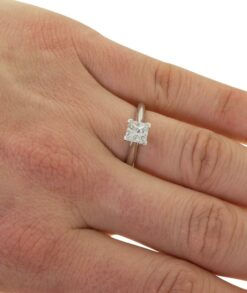 Princess Cut Moissanite Solitaire Ring South Africa