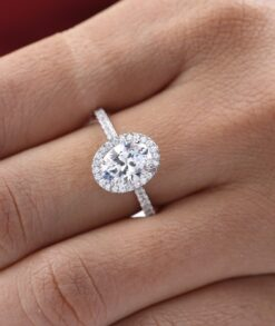 oval halo engagement ring south africa