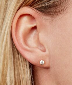 Round Moissanite Stud Earrings South Africa