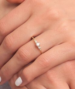 Promise Ring with Moissanite South Africa