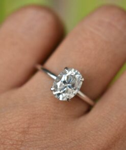 3.5ct Oval Moissanite Ring South Africa