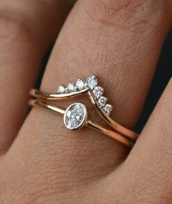 Tiara Wedding Ring Set South Africa