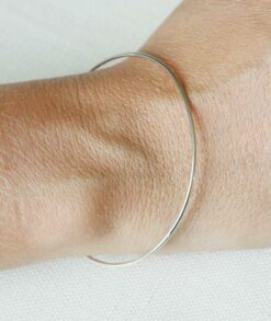 9ct White Gold Stacking Bangle South Africa