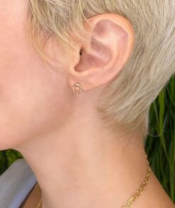 Gold Crescent Earrings South Africa