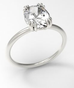 Triple Prong Engagement Ring South Africa
