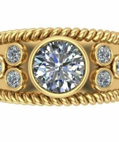 Wide Band Engagement Ring South Africa