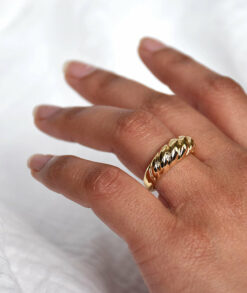 Gold Croissant Ring South Africa