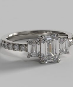 Emerald Cut Engagement Rings South Africa